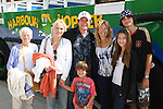Guiding Light's Beth Chamberlin with her mom and son Luke and Frank Dicopoulos with his wife Teja and son Jaden and daughter Olivia are on their way to go Whale Watching (boat photo) - Day 4 - August 3, 2010 - So Long Springfield at Sea - A day in port in Halifax, Nova Scotia, Canada from the Carnival's Glory (Photos by Sue Coflin/Max Photos)