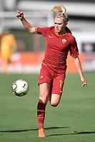 Amalie Thestrup of AS Roma  <br /> Roma 8/9/2019 Stadio Tre Fontane <br /> Luisa Petrucci Trophy 2019<br /> AS Roma - Paris Saint Germain<br /> Photo Andrea Staccioli / Insidefoto