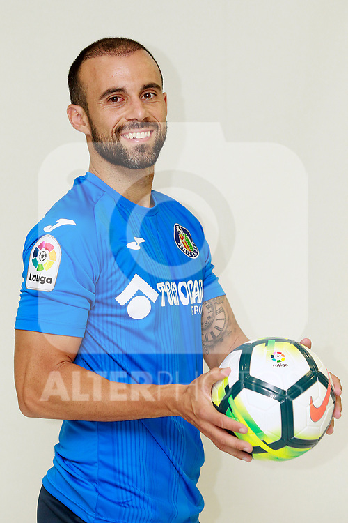 Getafe CF's Francisco Molinero during the session of the official photos for the 2017/2018 season. September 19,2017. (ALTERPHOTOS/Acero)