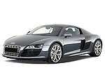 Front three quarter view of a 2009 - 2012 Audi R8 V10 FSI Coupe.
