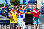 Members of the Irish Nurses and Midwives Organisation (INMO) working in the Emergency Department (ED) held lunchtime protest at University Hospital Kerry on Tuesday.
