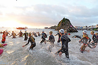 2016 09 18 Ironman Wales triathlon, Tenby, UK