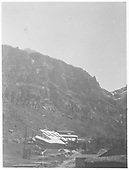 A distant view of the Smuggler-Union Mills at Pandora.<br /> RGS  Pandora, CO  1923