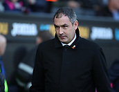 4th November 2017, Liberty Stadium, Swansea, Wales; EPL Premier League football, Swansea City versus Brighton and Hove Albion; Paul Clement, Manager of Swansea City