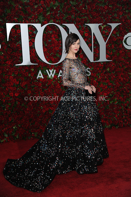 www.acepixs.com<br /> June 12, 2016  New York City<br /> <br /> Mary Elizabeth Winstead attending the 70th Annual Tony Awards at The Beacon Theatre on June 12, 2016 in New York City.<br /> <br /> Credit: Kristin Callahan/ACE Pictures<br /> <br /> <br /> Tel: 646 769 0430<br /> Email: info@acepixs.com