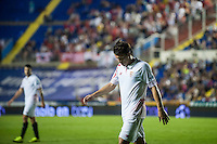 VALENCIA, SPAIN - SEPTEMBER 11: Konoplyanka during BBVA LEAGUE match between Levante U.D. And Sevilla C.F. at Ciudad de Valencia Stadium on September 11, 2015 in Valencia, Spain