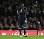 Manchester City's Yaya Toure looks on dejected<br /> <br /> Barclays Premier League- Arsenal vs Manchester City - Emirates Stadium - England - 21st December 2015 - Picture David Klein/Sportimage