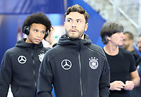 Jonas Hector (Deutschland Germany), Leroy Sane (Deutschland Germany), Bundestrainer Joachim Loew (Deutschland Germany) - 16.10.2018: Frankreich vs. Deutschland, 4. Spieltag UEFA Nations League, Stade de France, DISCLAIMER: DFB regulations prohibit any use of photographs as image sequences and/or quasi-video.