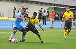 Alianza Petrolera igualó como local 1-1 ante Jaguares. Fecha 6 Liga Águila II-2017.