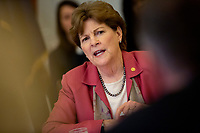 United States Senator Jeanne Shaheen (Democrat of New Hampshire) attends a Women, Peace, and Security Roundtable with the U.S. Foreign Relations Committee at the U.S. Capitol in Washington D.C., U.S., on June 11, 2019. Photo Credit: Stefani Reynolds / CNP/AdMedia