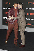 www.acepixs.com<br /> <br /> December 15 2017, London<br /> <br /> Will Smith and Joel Edgerton arriving at the European premiere of  'Bright' on December 15, 2017 at the BFI Southbank, in London.<br /> <br /> By Line: Famous/ACE Pictures<br /> <br /> <br /> ACE Pictures Inc<br /> Tel: 6467670430<br /> Email: info@acepixs.com<br /> www.acepixs.com