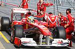 Formula1 Testing in Circuit de Catalunya in Barcelona