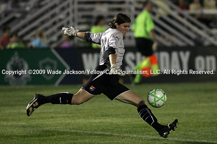 22 July 2009: Jenni Branam (23) of Sky Blue FC.  Saint Louis Athletica defeated the visiting Sky Blue FC 1-0 in a regular season Women's Professional Soccer game at Anheuser-Busch Soccer Park, in Fenton, MO.