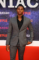 LONDON, ENGLAND - SEPTEMBER 13:   Kedar Stirling Williams attending the World premiere of the new Netflix series 'Maniac' at Southbank Centre on September 13, 2018 in London, England.<br /> CAP/MAR<br /> &copy;MAR/Capital Pictures