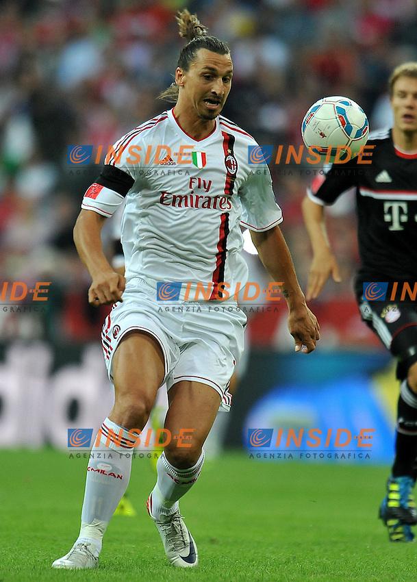 "Zlatan IBRAHIMOVIC (Milan) .FC Bayern München Vs AC Milan.Football Calcio AUDI CUP 2011/2012 .Monaco di Baviera 26/7/2011 Stadio ""Allianz Arena"".Foto Alessandro Sabattini Insidefoto"