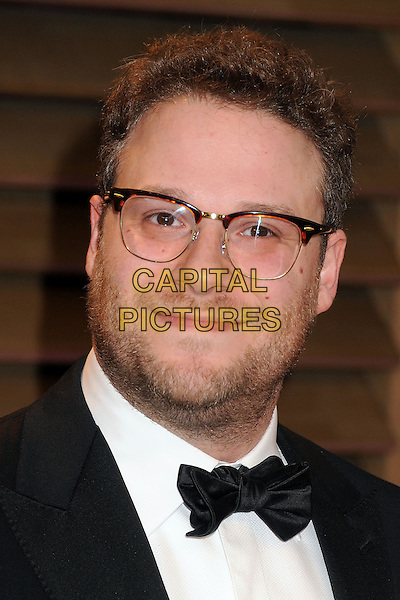 02 March 2014 - West Hollywood, California - Seth Rogen. 2014 Vanity Fair Oscar Party following the 86th Academy Awards held at Sunset Plaza.  <br /> CAP/ADM/BP<br /> &copy;Byron Purvis/AdMedia/Capital Pictures
