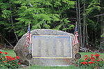 Veteran's Memorial in Lebanon, Maine, USA