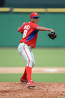 Philadelphia Phillies pitcher Ranger Suarez (68) during an Instructional League game against the New York Yankees on September 23, 2014 at the Bright House Field in Clearwater, Florida.  (Mike Janes/Four Seam Images)