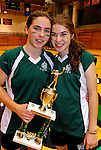 14 November 2010: Vermont Commons School hosts the 2010 Vermont State Volleyball Championships at Saint Michael's College in Colchester, Vermont. Participating schools include: the Enosburg Falls Hornets, the Lake Region Union Rangers, the Lyndon Institute Vikings, and the VCS Flying Turtles. The Boys Championship went to Lake Region Union High School, and for the third year in a row, the Girls Championship went to the Vermont Commons School. Mandatory Credit: Ed Wolfstein Photo