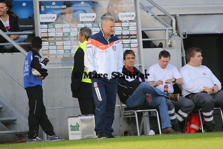 Trainer Benno Möhlmann (FSV) - FSV Frankfurt vs. VfR Aalen, Frankfurter Volksbank Stadion