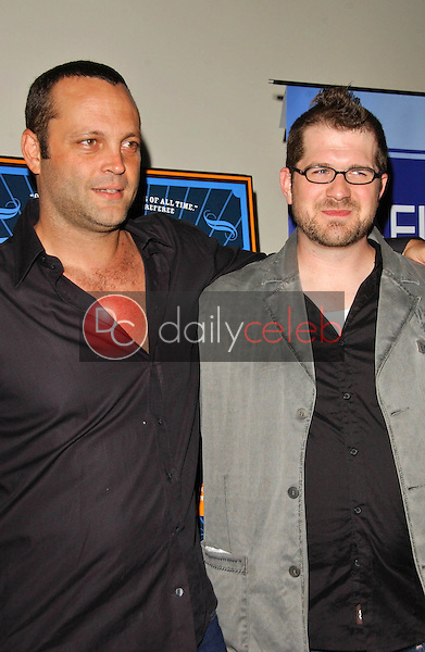 Vince Vaughn and Seth Gordon<br />