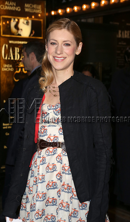 Charlotte Parry attending the Broadway Opening Night Performance of 'Cabaret' at Studio 54 on April 24, 2014 in New York City.