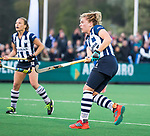 BLOEMENDAAL  - Hockey -  finale KNHB Gold Cup dames, Bloemendaal-HDM . Bloemendaal wint na shoot outs. Hester van der Veld (HDM) scoort 1-1/  COPYRIGHT KOEN SUYK