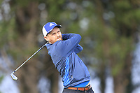 Marc Judge (Stackstown)  during the final of the Irish Mid-Amateur Open Championship, Royal Belfast Golf CLub, Hollywood, Down, Ireland. 29/09/2019.<br /> Picture Fran Caffrey / Golffile.ie<br /> <br /> All photo usage must carry mandatory copyright credit (© Golffile   Fran Caffrey)