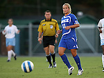 11 October 2007: Duke's Sara Murphy. The University of North Carolina Tar Heels defeated the Duke University Blue Devils 2-1 at Fetzer Field in Chapel Hill, North Carolina in an Atlantic Coast Conference NCAA Division I Women's Soccer game.