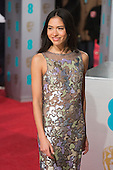 London, UK. 14 February 2016. Sonora Mizuno. Red carpet arrivals for the 69th EE British Academy Film Awards, BAFTAs, at the Royal Opera House. © Vibrant Pictures/Alamy Live News