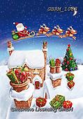 Roger, CHRISTMAS SANTA, SNOWMAN, WEIHNACHTSMÄNNER, SCHNEEMÄNNER, PAPÁ NOEL, MUÑECOS DE NIEVE, paintings+++++_RM-1617-2117,GBRM1088,#x#