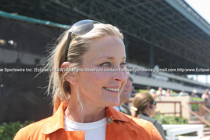 27 June 2009: Bo Derek at Hollywood Park in Inglewood, CA