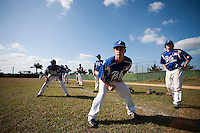 BASEBALL - POLES BASEBALL FRANCE - TRAINING CAMP CUBA - HAVANA (CUBA) - 13 TO 23/02/2009 - YOHAN BRET (FRANCE), GUILLAUME LAFEUILLE (FRANCE)