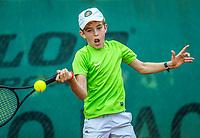 Hilversum, Netherlands, August 9, 2017, National Junior Championships, NJK, Thijs Roper<br /> Photo: Tennisimages/Henk Koster