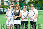 Enjoying Tralee Tennis Club  Tennis Charity Day in aid of the National Council for the Blind Ireland (NCBI) on Saturday were l-r  Maeve Kneeshaw, Dolores O'Callaghan, Deirdre Sugrue and Nora McDermot.