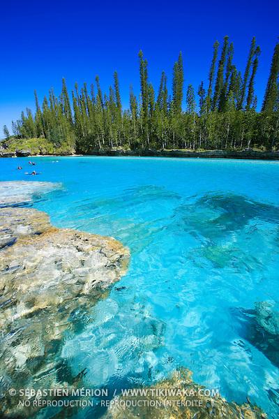 Piscine Naturelle, baie d'Oro, Ile des Pins, Nouvelle-Calédonie