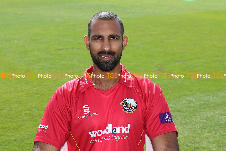 Varun Chopra of Essex in Royal London Cup kit during the Essex CCC Press Day at The Cloudfm County Ground on 5th April 2017
