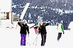 Pix: Shaun Flannery/shaunflanneryphotography.com...COPYRIGHT PICTURE>>SHAUN FLANNERY>01302-570814>>07778315553>>..28th December 2011……………..Ski Olympic, Vallandry, France..La Foret.Ski Host.