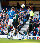 Lee McCulloch heads Rangers into an early lead