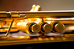 Monette trumpet, close-up