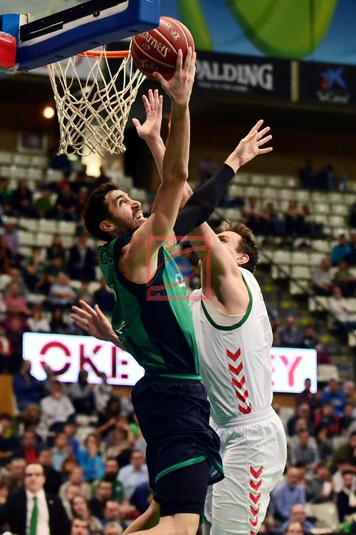 League ACB-ENDESA 2016/2017. Game: 5.<br /> Divina Seguros Joventut vs Baskonia: 83-90.<br /> Sergi Vidal.