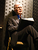 Kreskin performs at  &quot;The Amazing Kreskin&quot; <br /> Off Broadwy show on April 11, 2018 at the Lion Theatre in New York City. <br /> <br /> photo by Robin Platzer/Twin Images<br />  <br /> phone number 212-935-0770