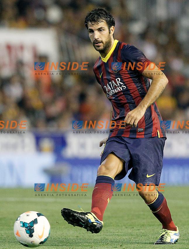 FC Barcelona's Cesc Fabregas during La Liga match.September 1,2013. (ALTERPHOTOS/Acero) <br /> Football Calcio 2013/2014<br /> La Liga Spagna<br /> Foto Alterphotos / Insidefoto <br /> ITALY ONLY