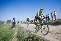 Sebastian Langeveld (NED/Cannondale-Drapac)<br /> <br /> 115th Paris-Roubaix 2017 (1.UWT)<br /> One day race: Compi&egrave;gne &gt; Roubaix (257km)