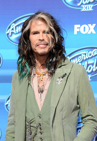 HOLLYWOOD, CA - MAY 13: Steven Tyler arriving at the 2015 American Idol Season 14 Finale at the Dolby Theatre on May 13, 2015 in Hollywood, California. Credit: PGTW/MediaPunch