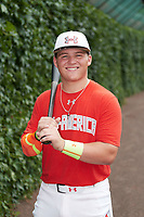 Sam Praytor (17) of Helena High School in Helena, Alabama poses for a photo before the Under Armour All-American Game presented by Baseball Factory on July 23, 2016 at Wrigley Field in Chicago, Illinois.  (Mike Janes/Four Seam Images)