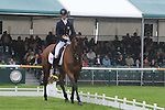 Georgie Spence riding Bow House Mandalin during the Dressage phase of the 2012 Land Rover Burghley Horse Trials in Stamford, Lincolsnhire