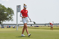 Nelly Korda (USA) heads down 1 during round 4 of the 2019 US Women's Open, Charleston Country Club, Charleston, South Carolina,  USA. 6/2/2019.<br /> Picture: Golffile | Ken Murray<br /> <br /> All photo usage must carry mandatory copyright credit (© Golffile | Ken Murray)