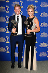 BEVERLY HILLS - JUN 22: Chandler Massey, Hunter King at The 41st Annual Daytime Emmy Awards Press Room at The Beverly Hilton Hotel on June 22, 2014 in Beverly Hills, California