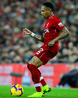 Liverpool's Nathaniel Clyne<br /> <br /> Photographer AlexDodd/CameraSport<br /> <br /> The Premier League - Liverpool v Manchester United - Sunday 16th December 2018 - Anfield - Liverpool<br /> <br /> World Copyright &copy; 2018 CameraSport. All rights reserved. 43 Linden Ave. Countesthorpe. Leicester. England. LE8 5PG - Tel: +44 (0) 116 277 4147 - admin@camerasport.com - www.camerasport.com